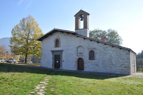 Esterno della chiesa della vittorina