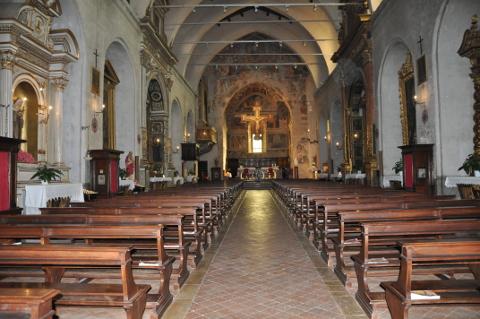 interno chiesa di Sant'Agostino